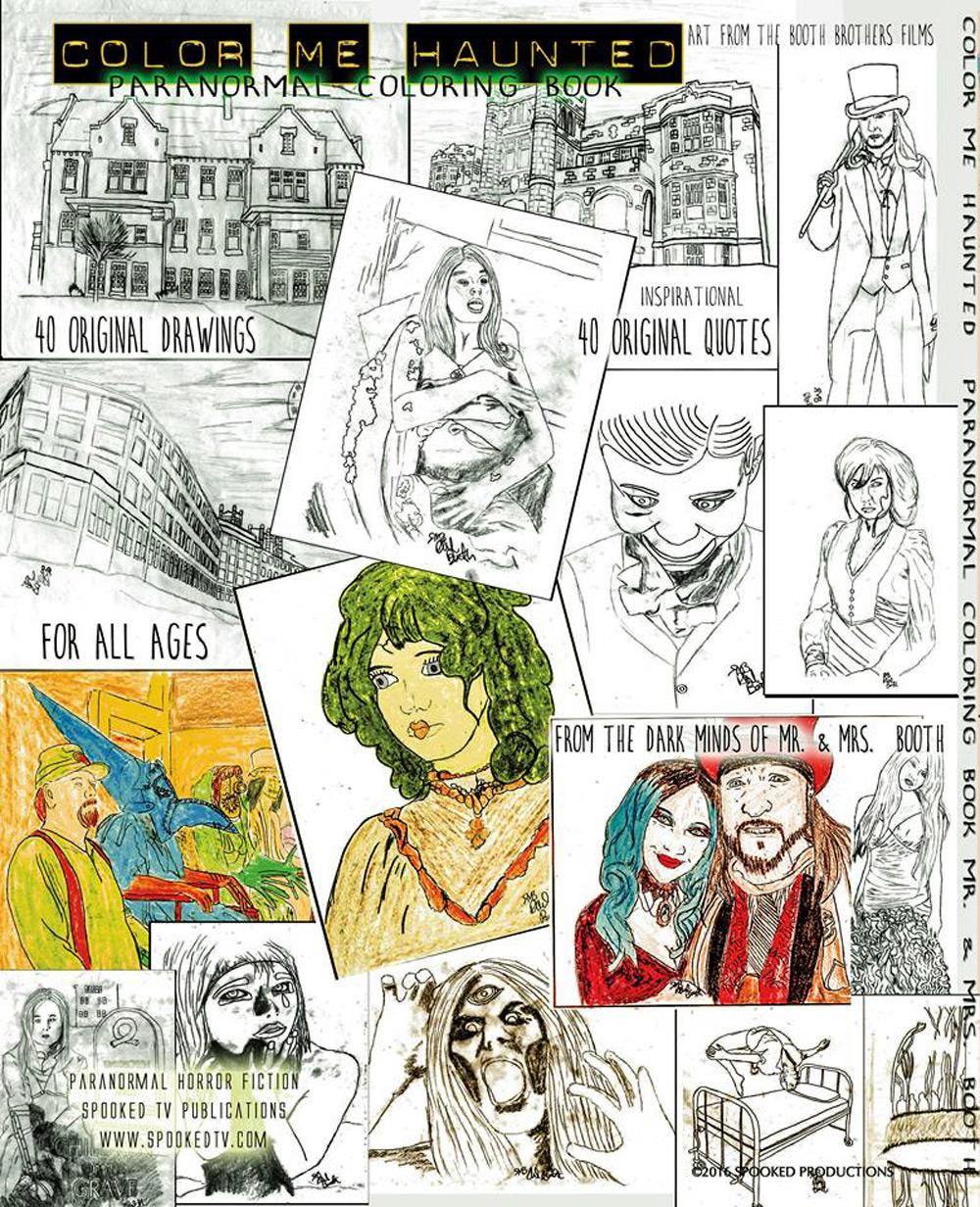 Paranormal coloring #17, Download drawings