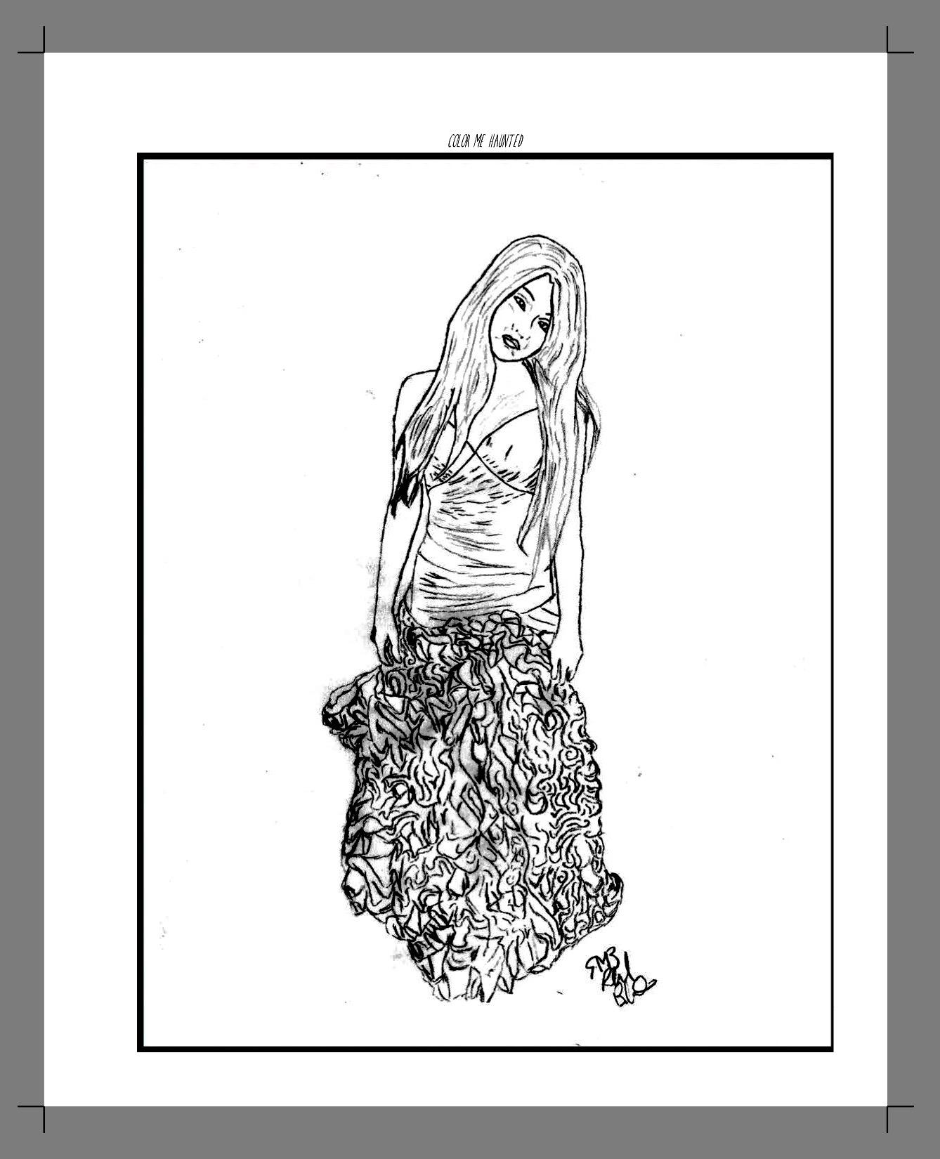 Paranormal coloring #3, Download drawings