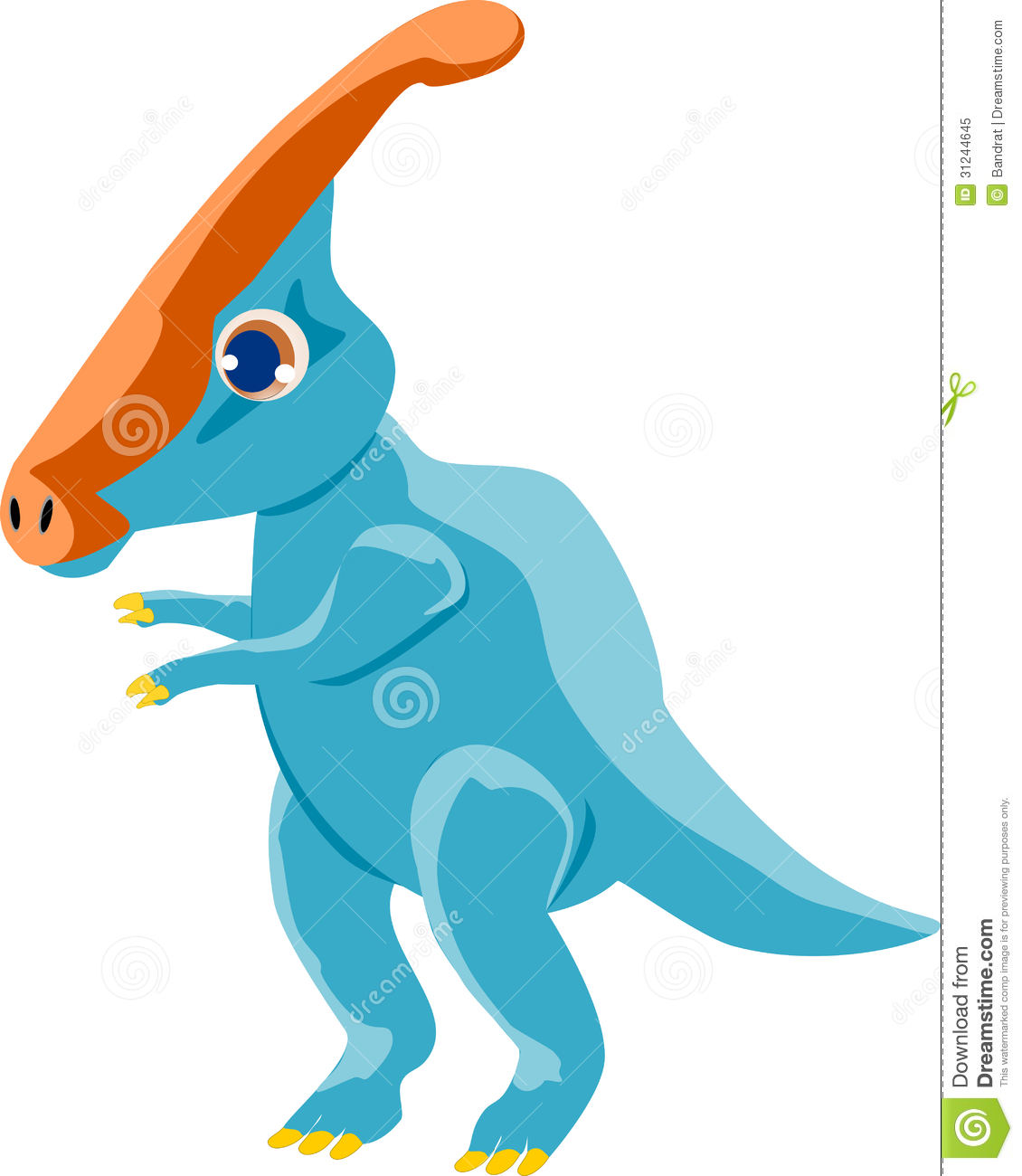 Parasaurolophus clipart #17, Download drawings