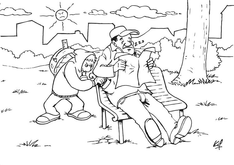 Parc coloring #6, Download drawings
