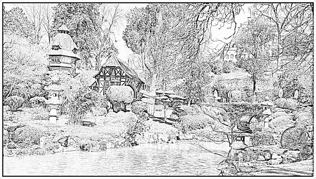 Parc coloring #2, Download drawings