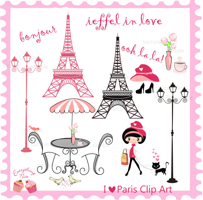 Paris clipart #1, Download drawings