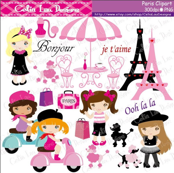 Paris clipart #2, Download drawings
