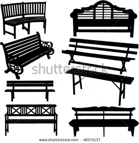 Park Bench svg #6, Download drawings