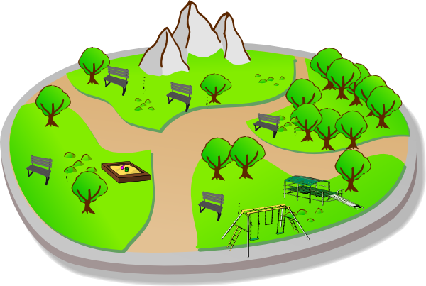 Park clipart #2, Download drawings