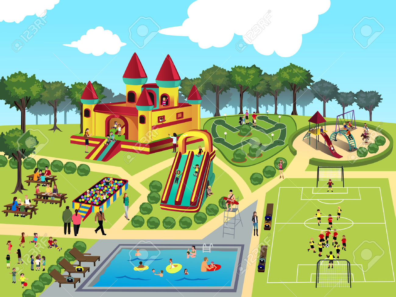 Park clipart #10, Download drawings