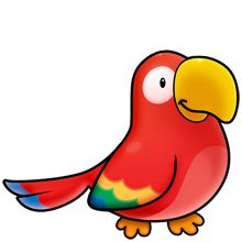 Parrot clipart #7, Download drawings