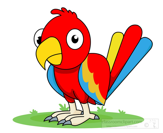 Parrot clipart #4, Download drawings