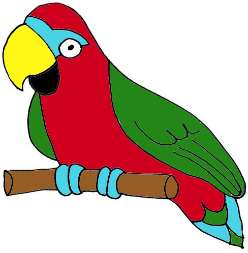 Parrot clipart #14, Download drawings