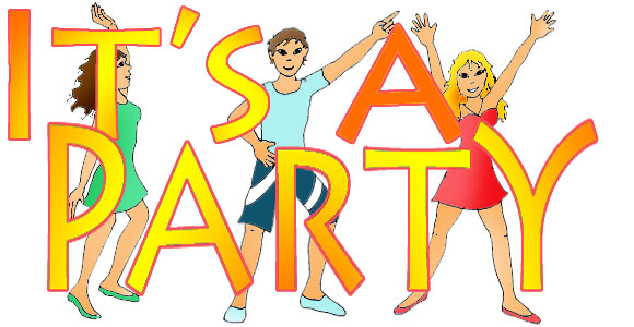 Party clipart #2, Download drawings
