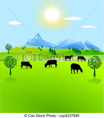 Pasture clipart #10, Download drawings