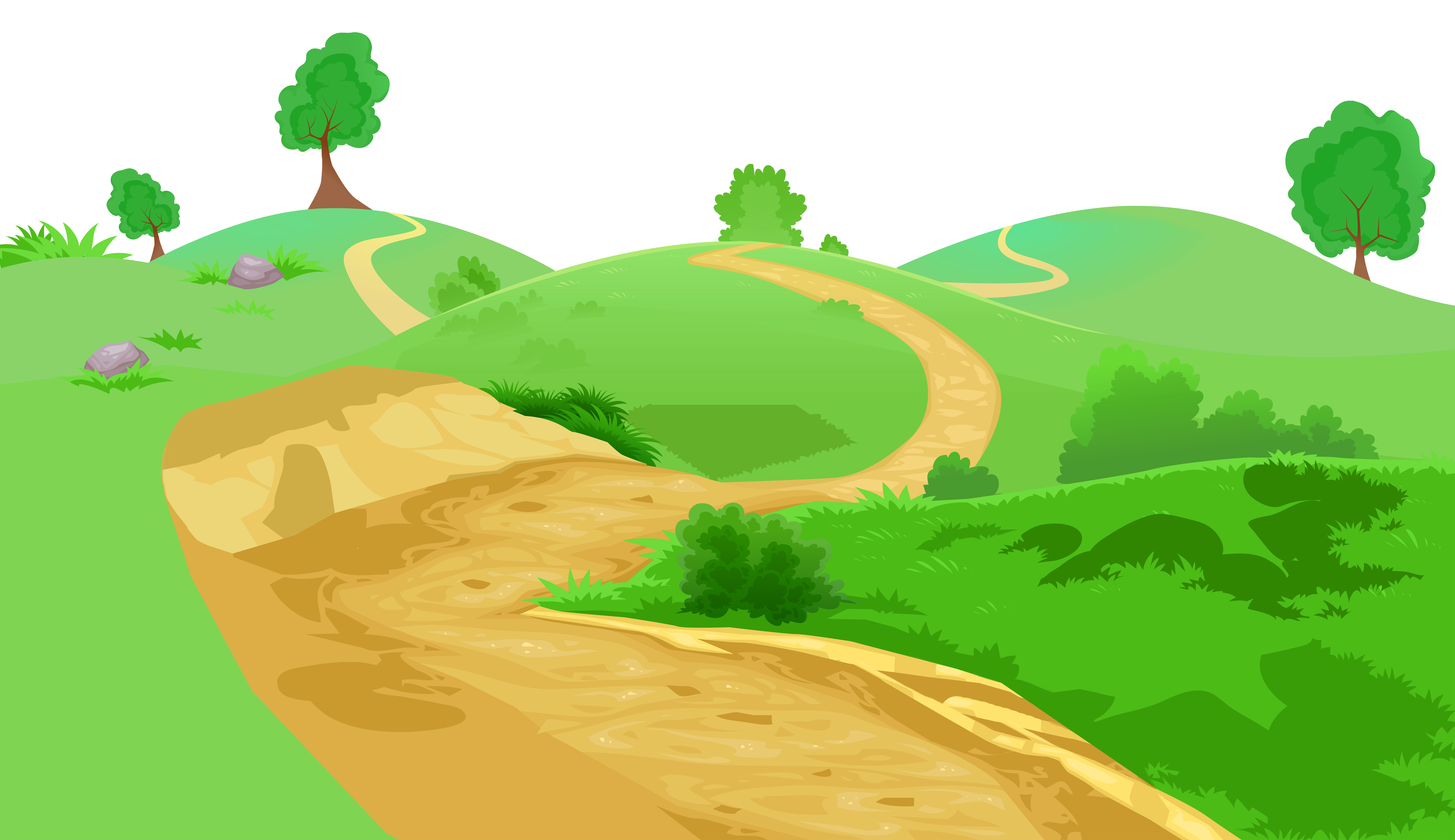 Pathway clipart #2, Download drawings