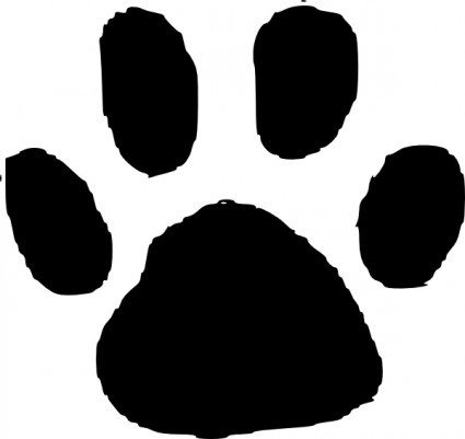 Paw clipart #10, Download drawings