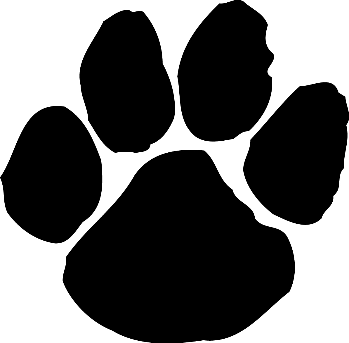 Paw clipart #12, Download drawings