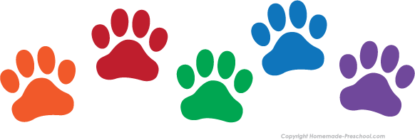 Paw Prints clipart #15, Download drawings