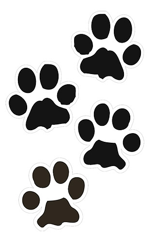 Paw Prints clipart #12, Download drawings