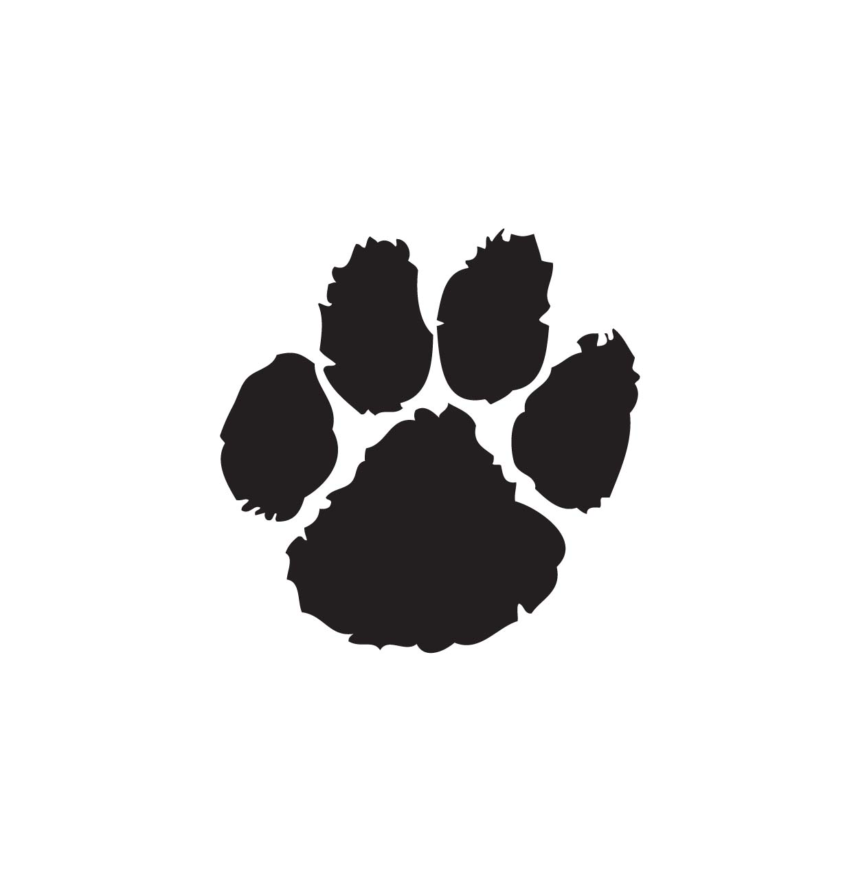 Paw clipart #7, Download drawings