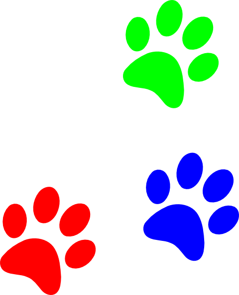 Paw Prints clipart #5, Download drawings