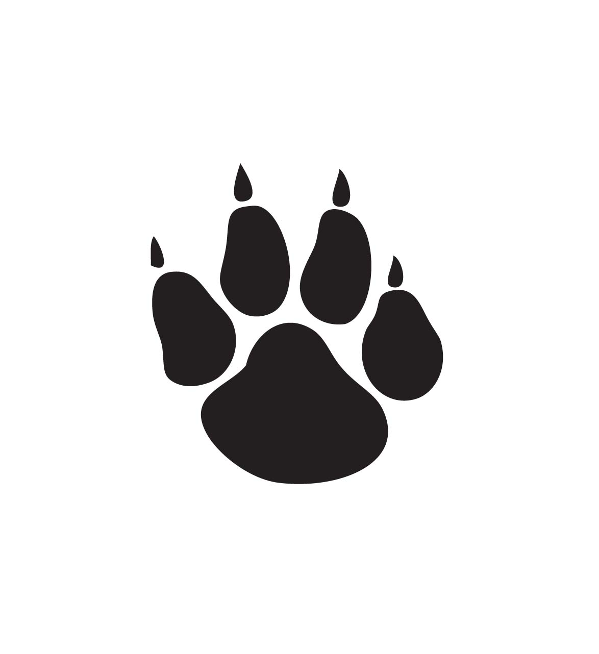 Paw Prints clipart #6, Download drawings