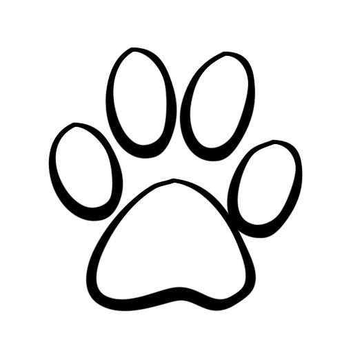 Paw clipart #19, Download drawings
