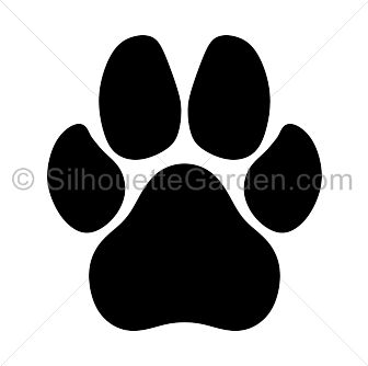 Paw Prints svg #11, Download drawings