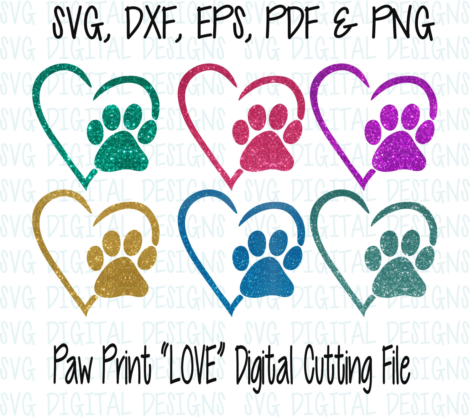 Paw Prints svg #8, Download drawings