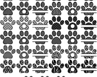 Paw Prints svg #10, Download drawings