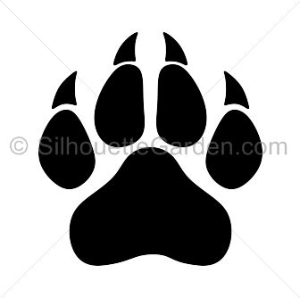 Paw Prints svg #6, Download drawings