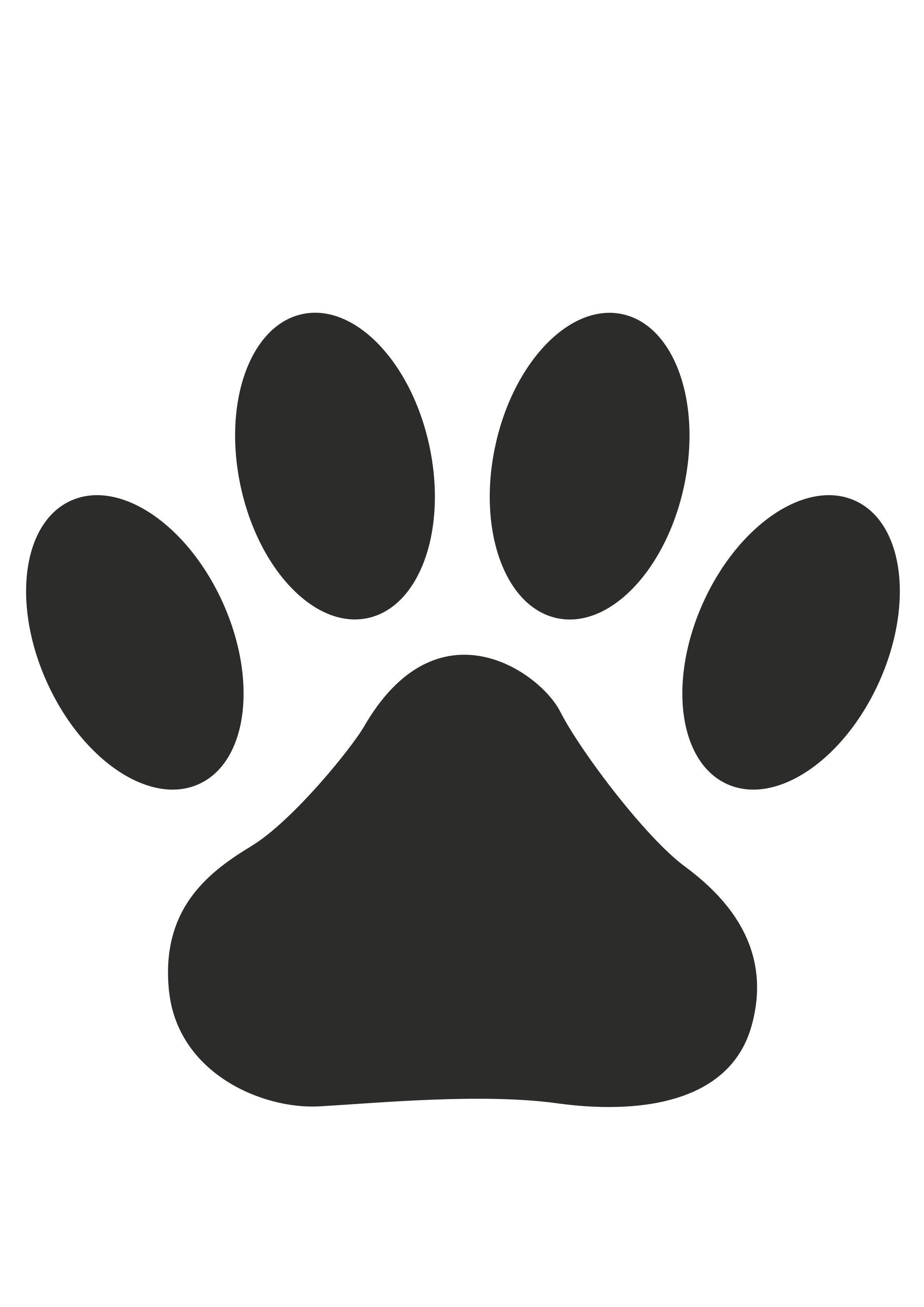 Paw Prints svg #4, Download drawings