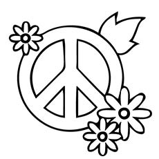 Peace coloring #12, Download drawings