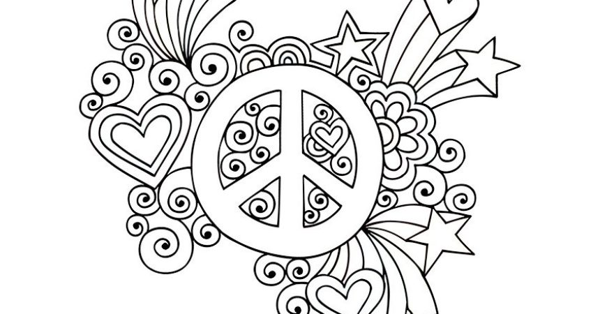 Peace coloring #3, Download drawings