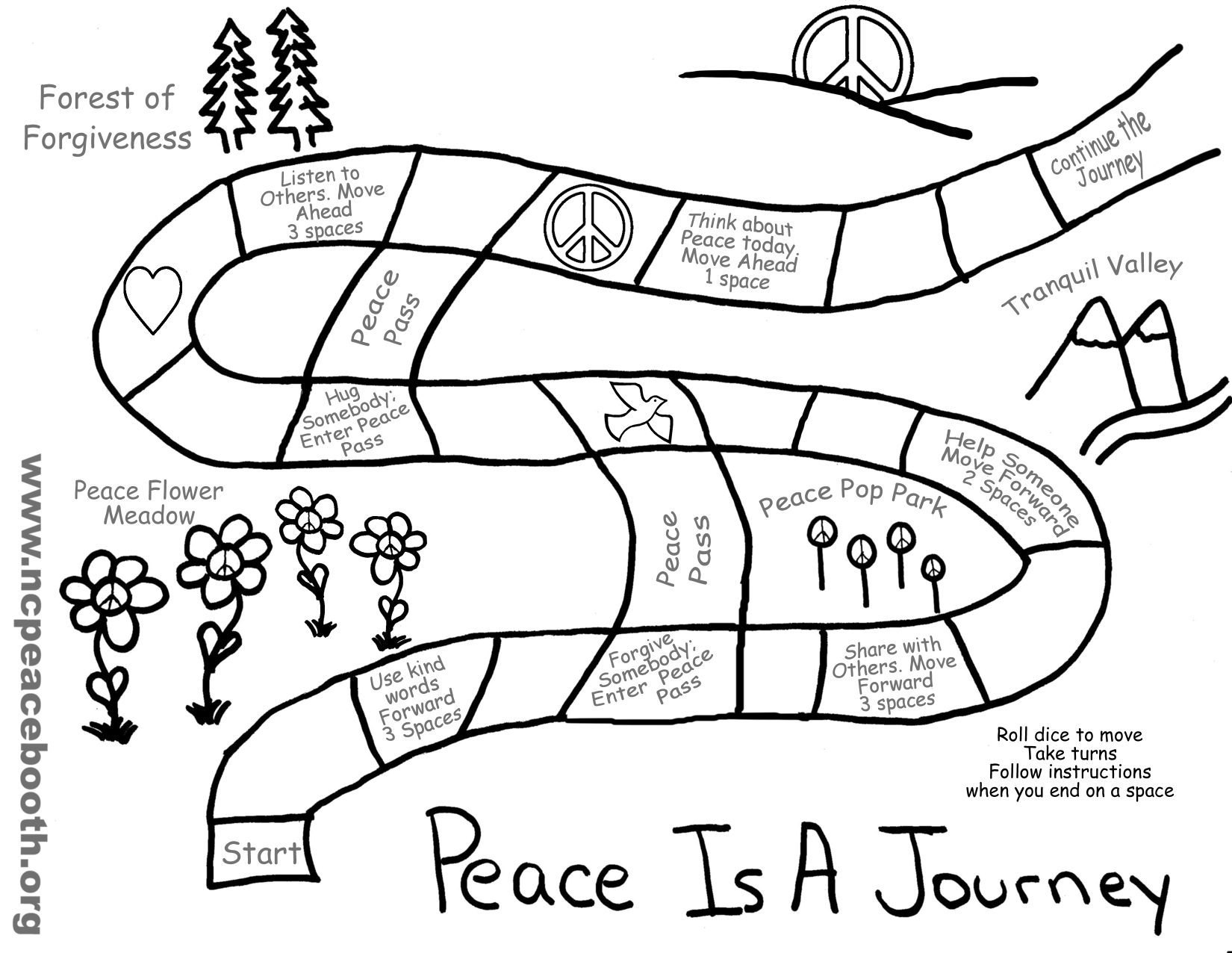 Peace coloring #2, Download drawings