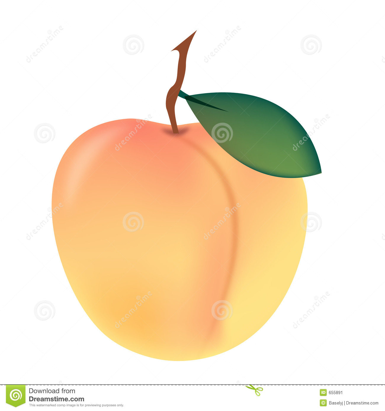 Peach (color) clipart #10, Download drawings