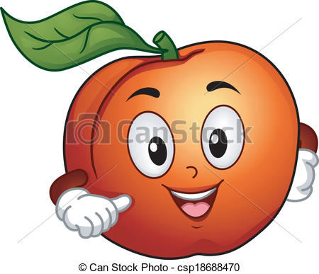 Peach (color) clipart #7, Download drawings