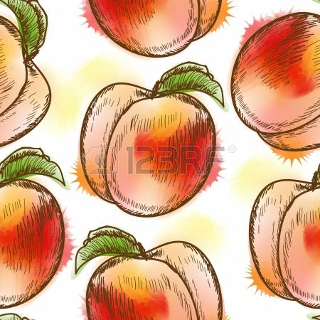Peach (color) clipart #5, Download drawings