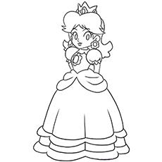 Peach coloring #13, Download drawings