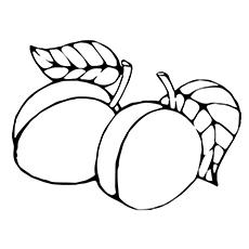 Peach coloring #2, Download drawings