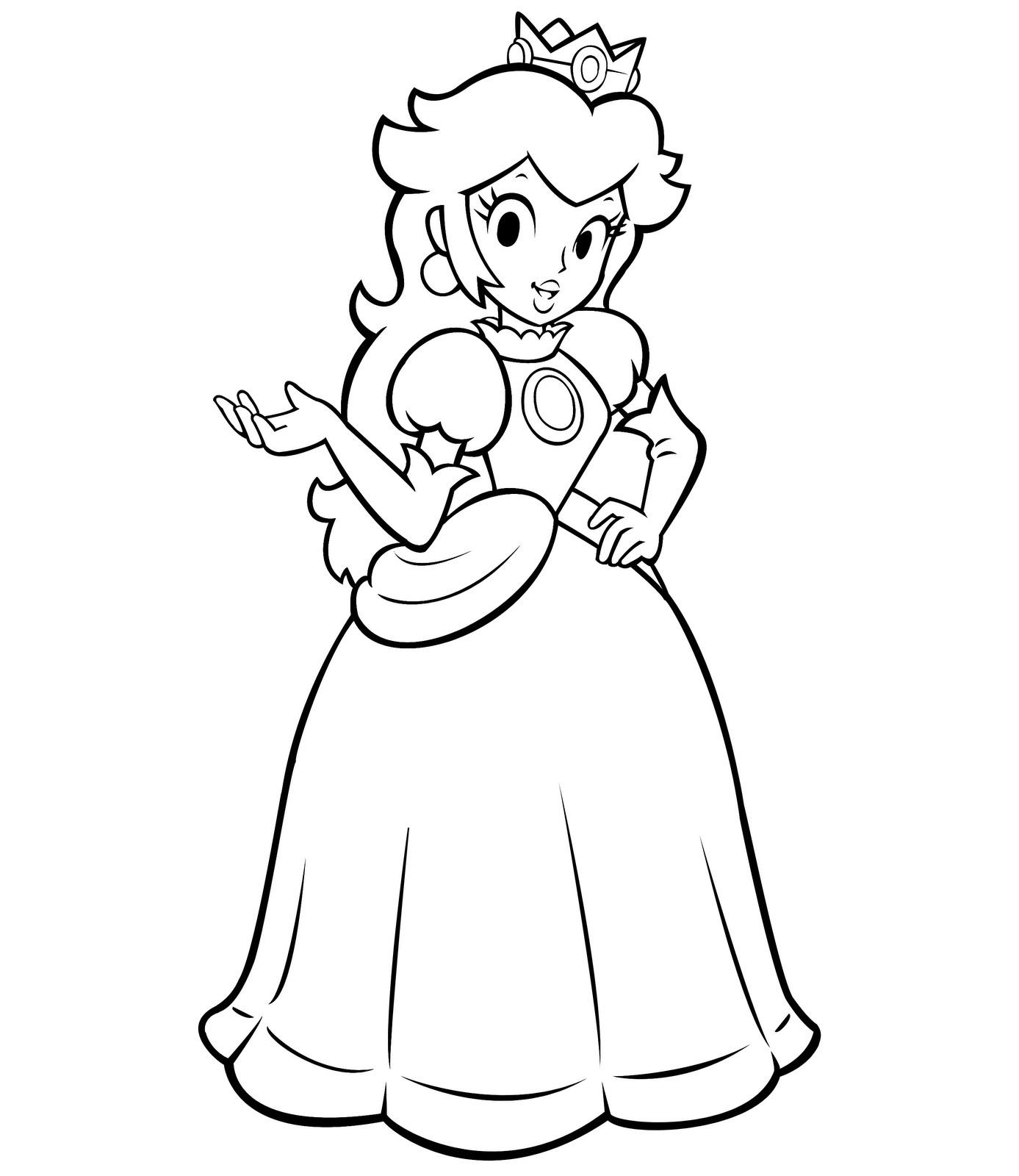 Peach coloring #8, Download drawings