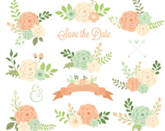 Peach Flower clipart #11, Download drawings