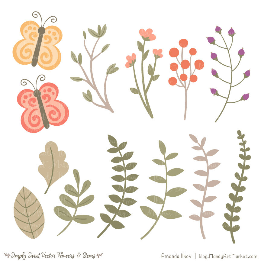 Peach Flower clipart #7, Download drawings