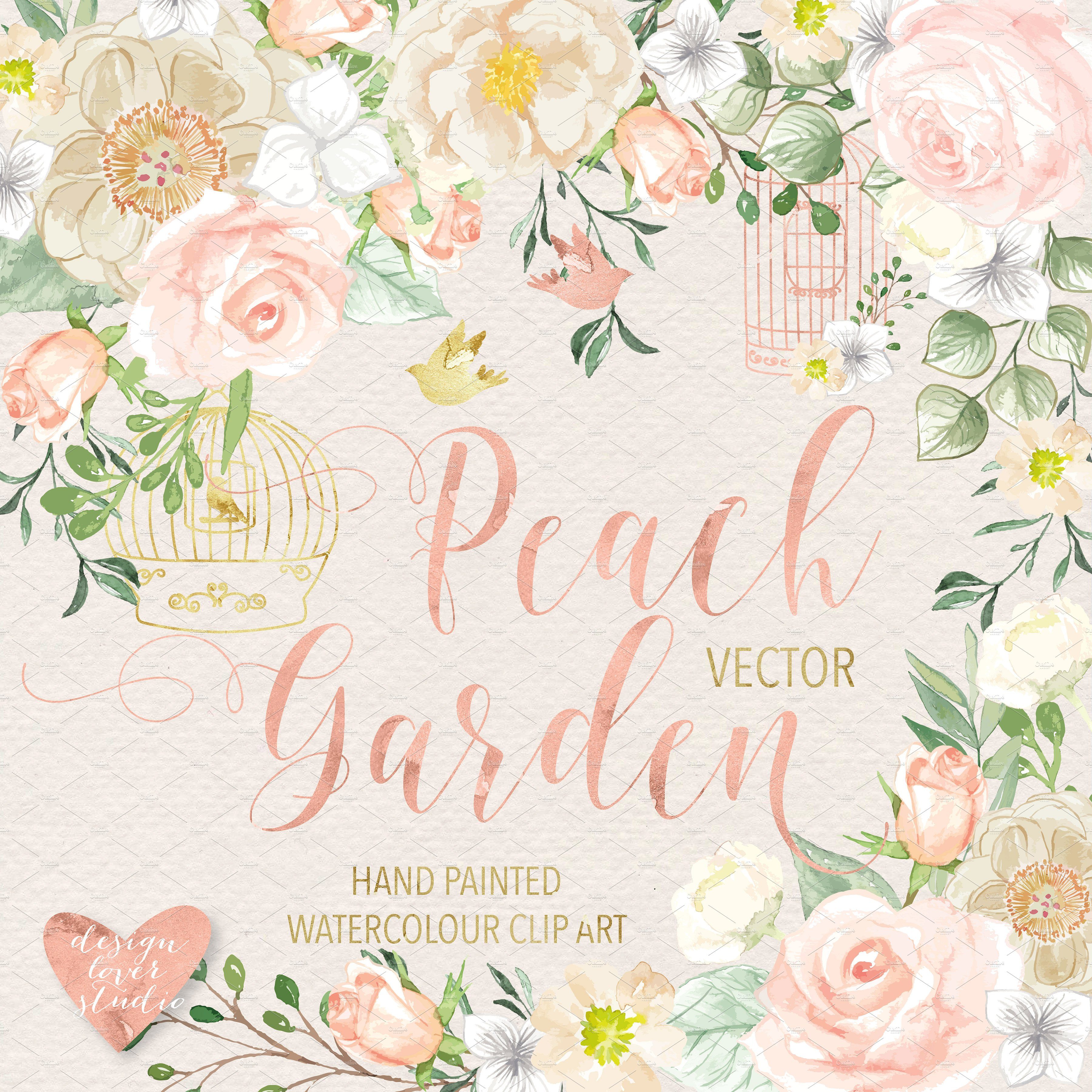 Peach Flower clipart #2, Download drawings