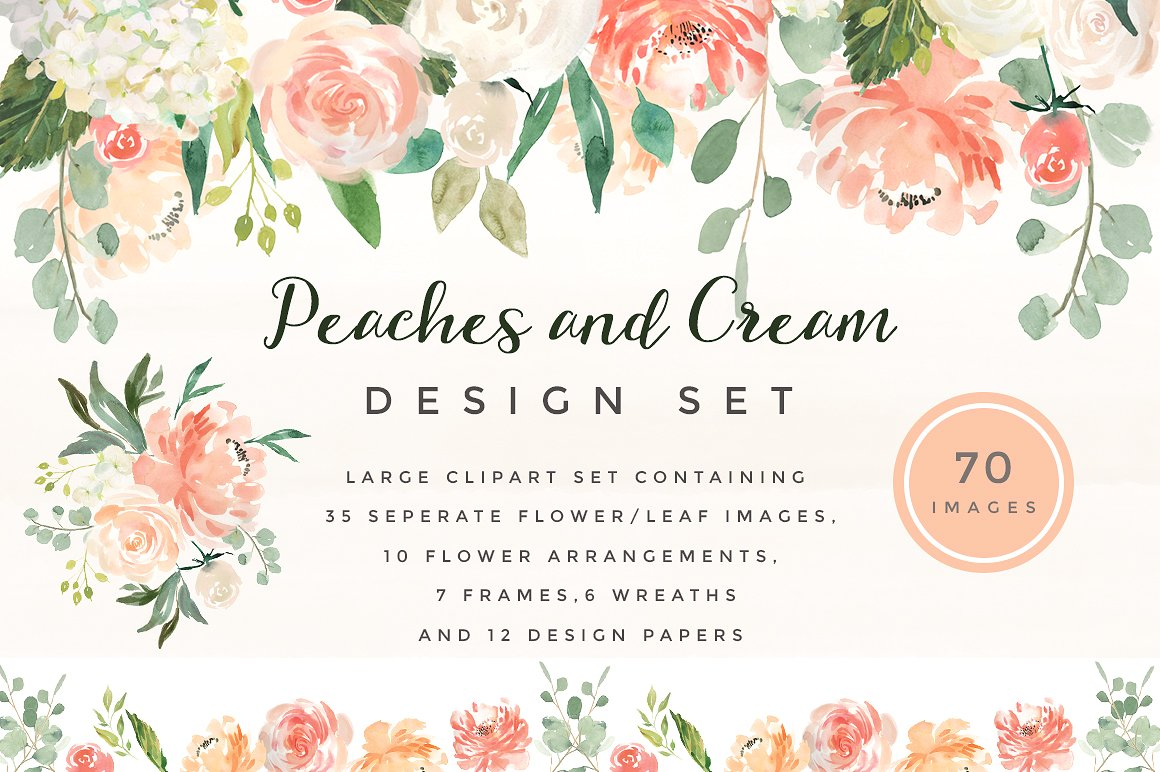 Peach Flower clipart #3, Download drawings