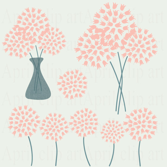 Peach Flower clipart #18, Download drawings