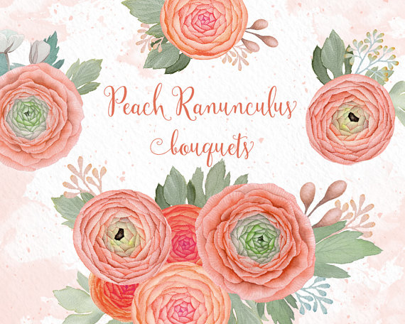 Peach Flower clipart #15, Download drawings