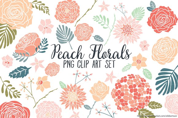 Peach Flower clipart #16, Download drawings