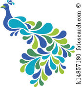 Peacock clipart #16, Download drawings
