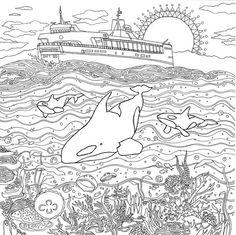 Peak coloring #15, Download drawings