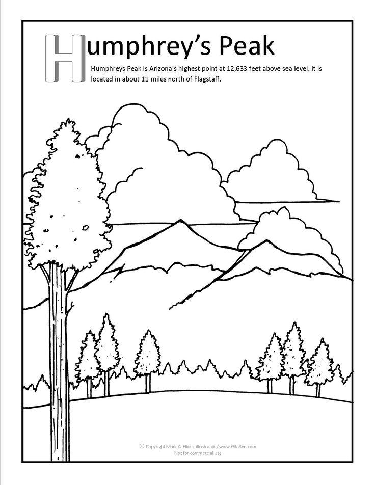Peak coloring #10, Download drawings