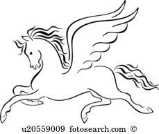 Pegasus clipart #9, Download drawings