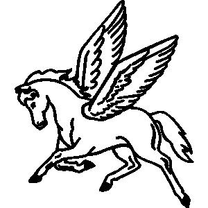 Pegasus clipart #12, Download drawings